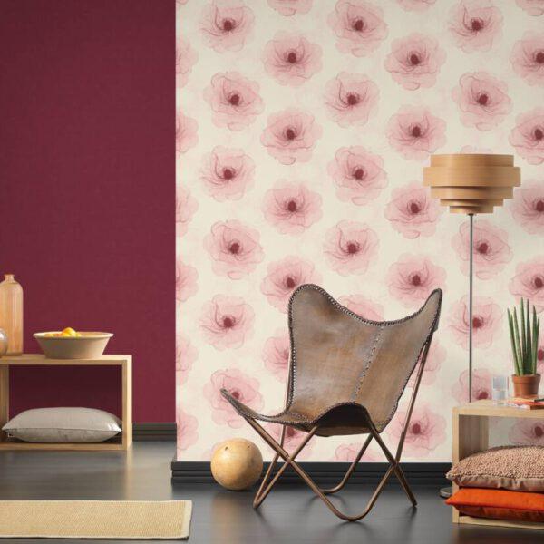bloemen-behang-roze-342743-kamer