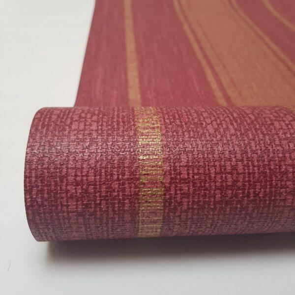 behang-bordeaux-goud-strepen-GT28818