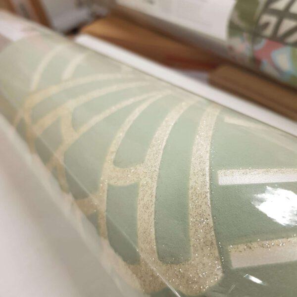 305333-glitter-behang-groen2