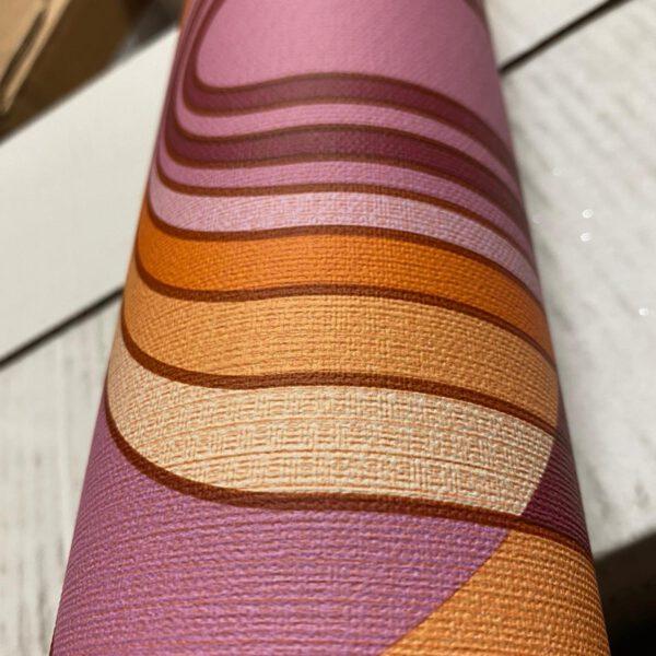 7039-27-retro-behang-oranje-paars