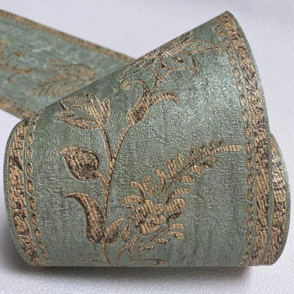 behangrand-klassiek-groen