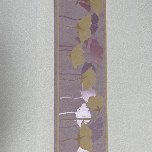 lila paars behangrand