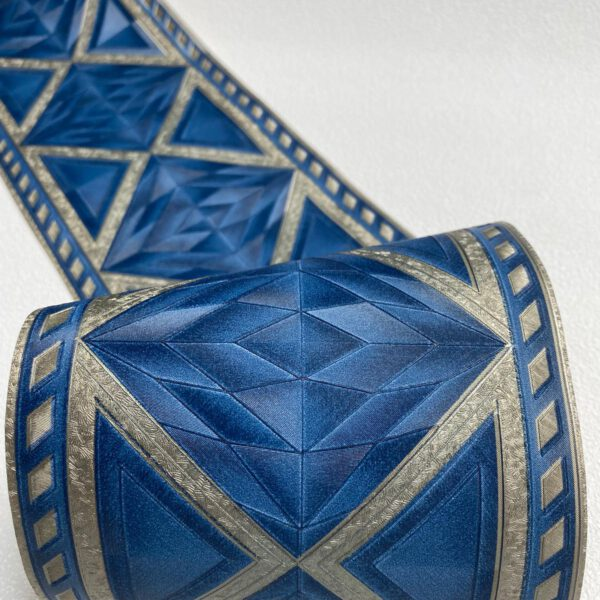 behangrand-blauw-goud