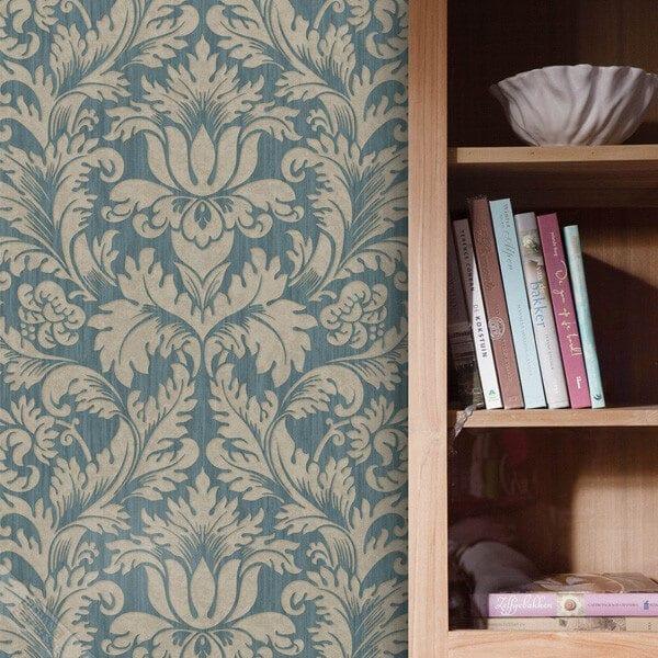 barok-behang-groen-goud-woonkamer-787-05