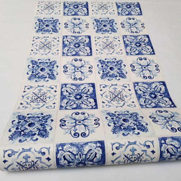 delfts-blauw-tegel-behang