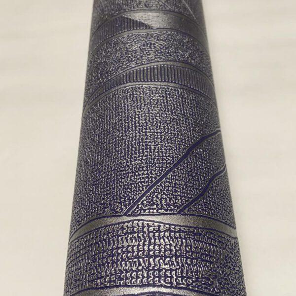 behang-paars-zilver-vlies2