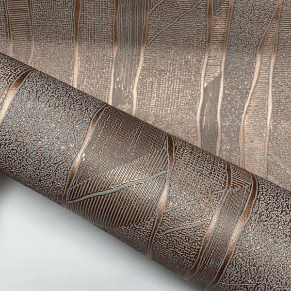 behang-brons-zilver-vlies