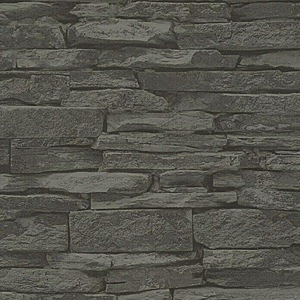 3d-steen-behang-antraciet-23109728