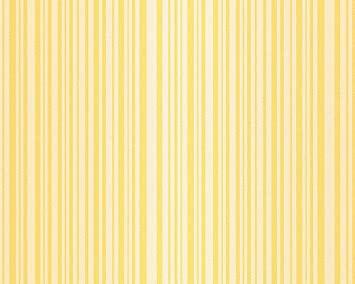geel strepen behang as creation
