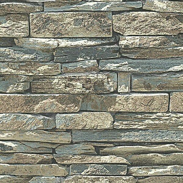 3d-steen-behang-bruin