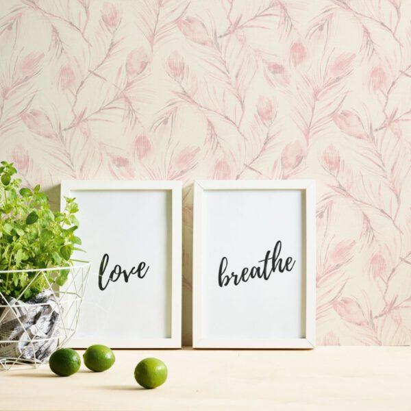 bloemen-behang-373672-roze