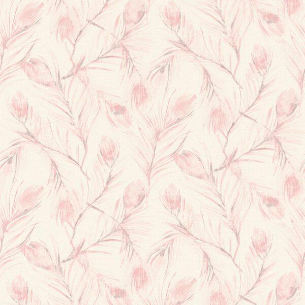 bloemen-behang-373672-roze-woonkamer